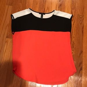 Forever 21 Colorblock Blouse